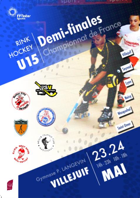 Affiche Demi U15 2015